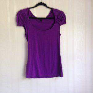 BCBGMaxAzria Purple Top